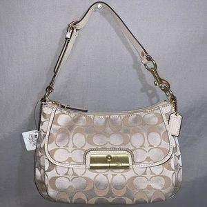 Coach Kristin Signature Handbag Shoulder Bag EUC